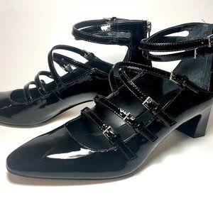 Calvin Klein Black Patent Heel